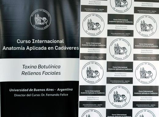 Cadáver lab, teóricos y live demo: curso internacional de toxina y rellenos
