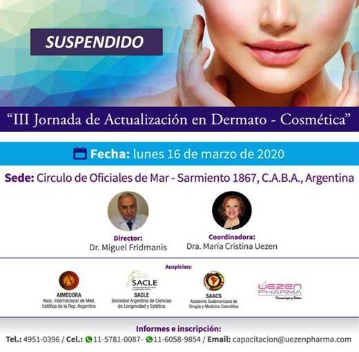 III Jornada de Actualización en Dermato-Cosmética